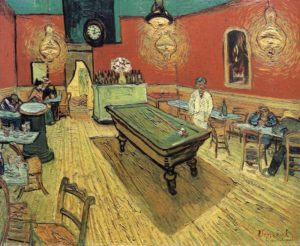 Van Gogh, Meyhanede Gece