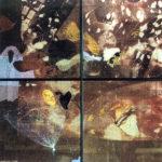 Nur Gökbulut, Balonların Sonu, Karışık Malzeme, 100x100 cm, 1989