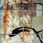 Nur Gökbulut, Deniz Yırtılınca, Karışık Malzeme 100x150cm, 1992