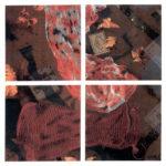 Nur Gökbulut Parçalanmanın Estetiği, Karışık Malzeme, 100x100 cm, 1990